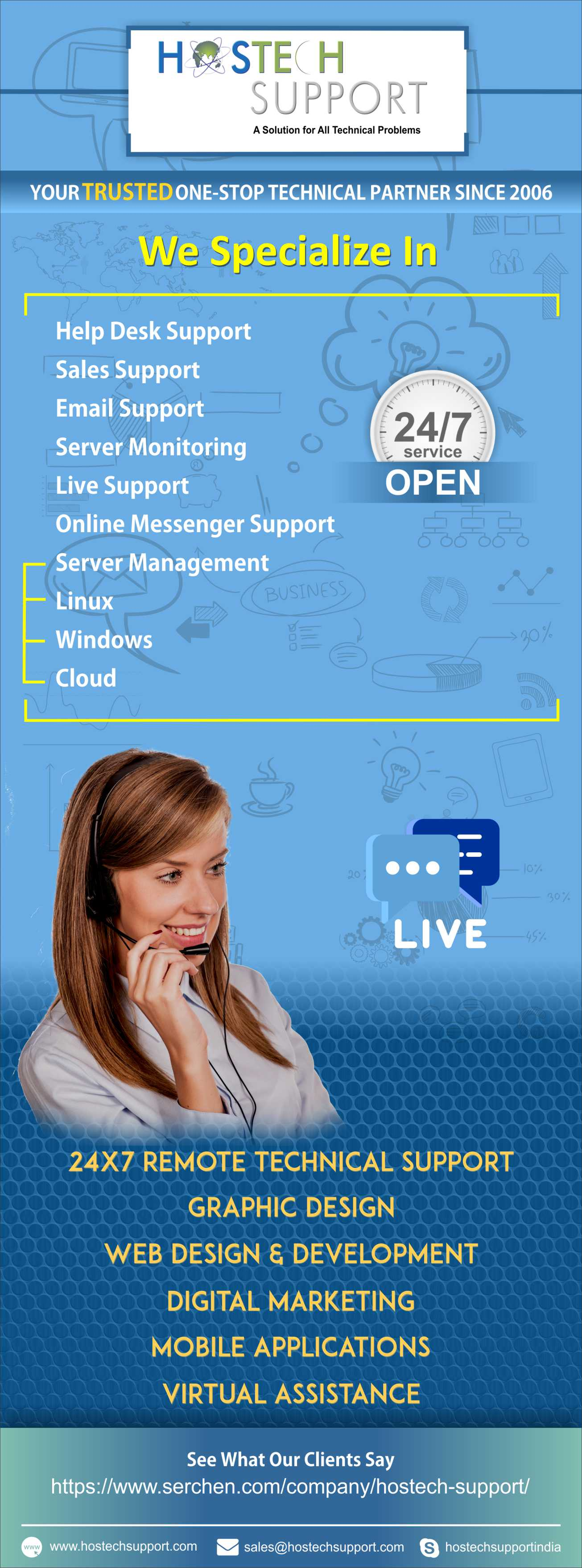 24×7 Remote technical support – HostechSupport Blog